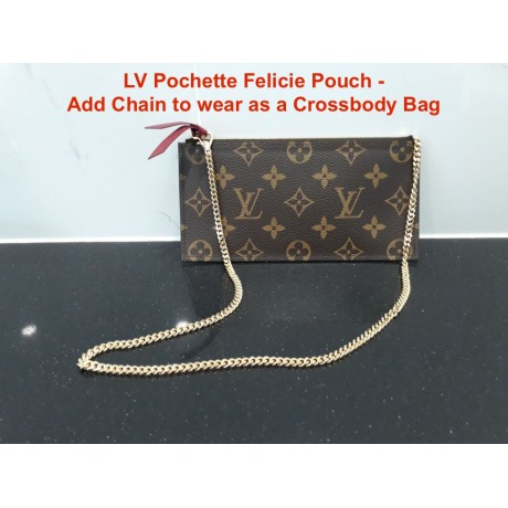 LV Felicie Pouch ( Wallet Chain )