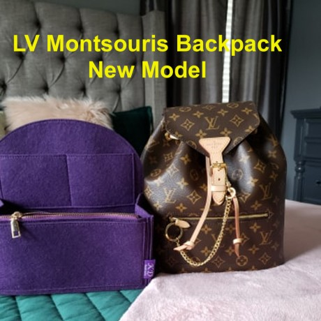 LV Montsouris Backpack ( New Model )