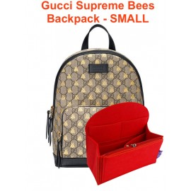 Gucci Supreme Bees Backpack - Small size