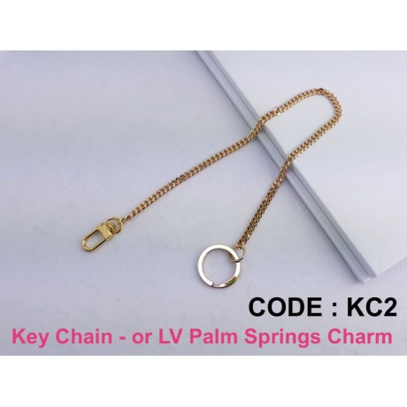 Key Chain ( or for LV Palm Springs Backpack Charm )