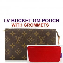 LV Bucket GM Pouch ( With Grommets )