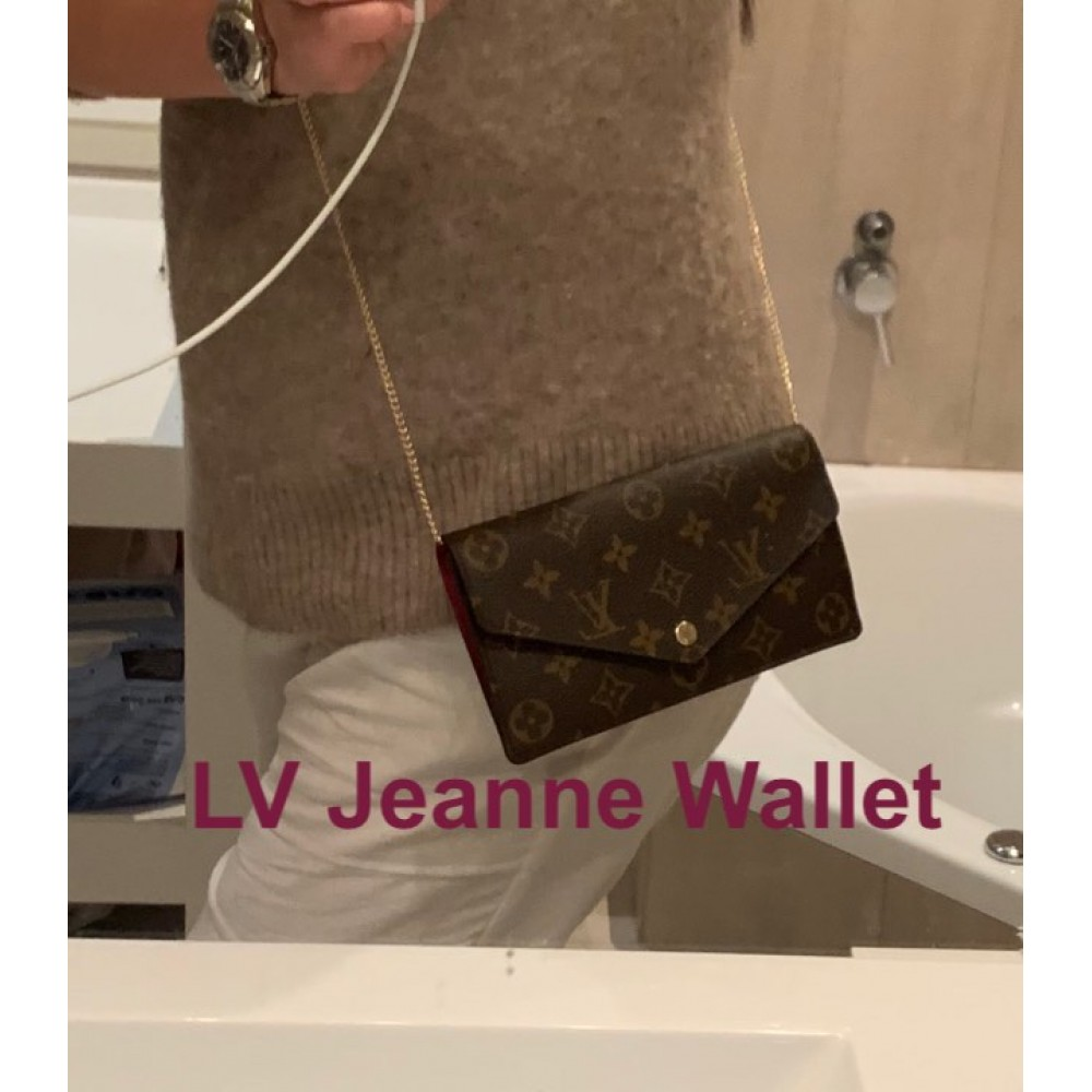 LV Jeanne Wallet  ( With Grommets )