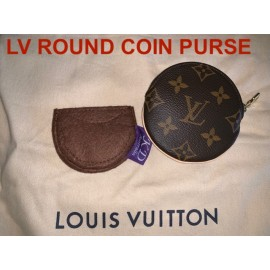 LV Round Coin Purse