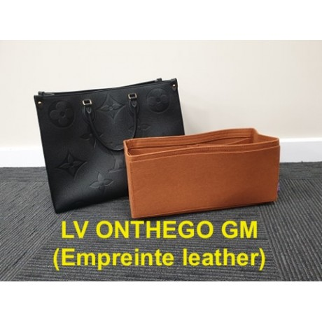 LV ONTHEGO GM ( Empreinte leather )