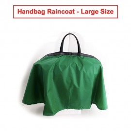 Handbag Raincoat - Large Size