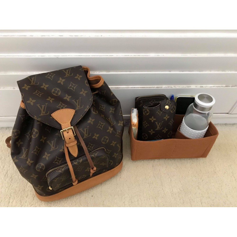LV Montsouris MM Backpack (standard style)