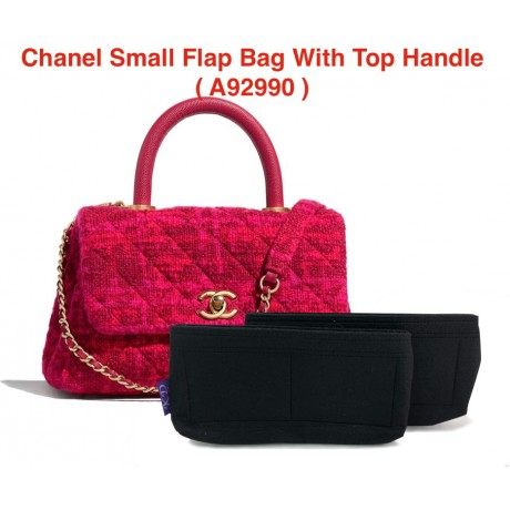 Chanel Small Flap Bag With Top Handle ( A92990 )