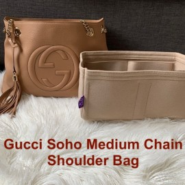 Gucci Soho Medium Chain Shoulder Bag