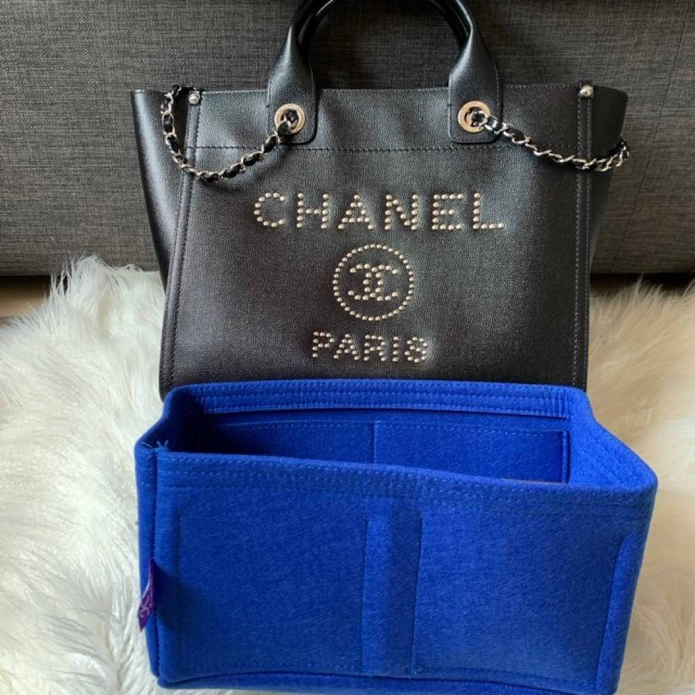 Chanel Leather Deauville - Small tote bag