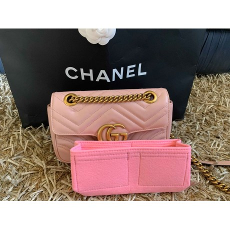 Gucci Marmont Velvet Mini Bag ( GG Marmont Matelasse Mini Bag )