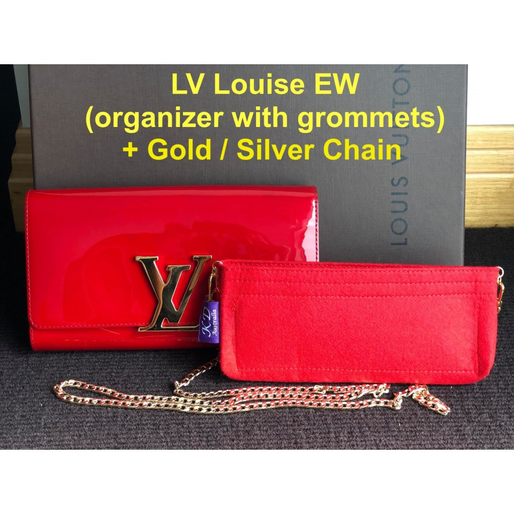 LV Louise EW - With Grommets and Chain