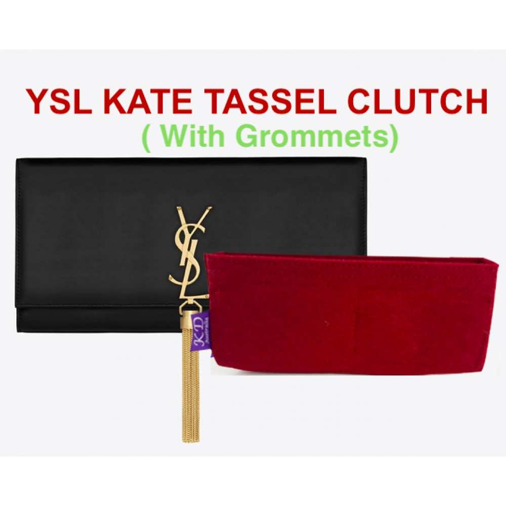YSL Kate Tassel Clutch ( With Grommets )