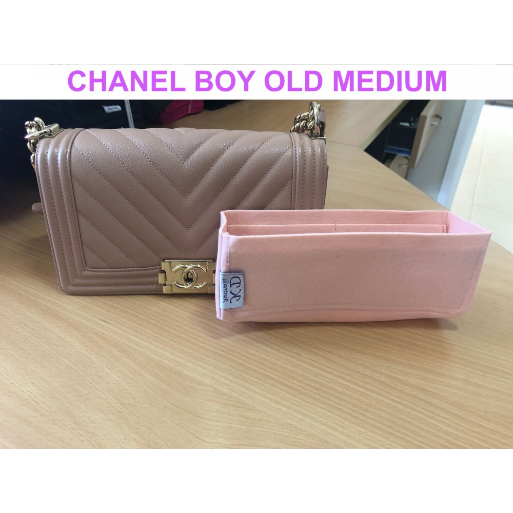 Chanel Boy Old Medium (Ref A67086)
