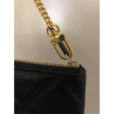Chanel Pouch ( set of 2 ) -  with Hook & Chain