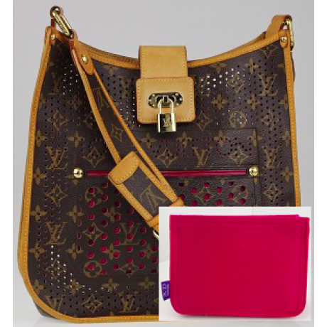 LV Perforated Musette Bag