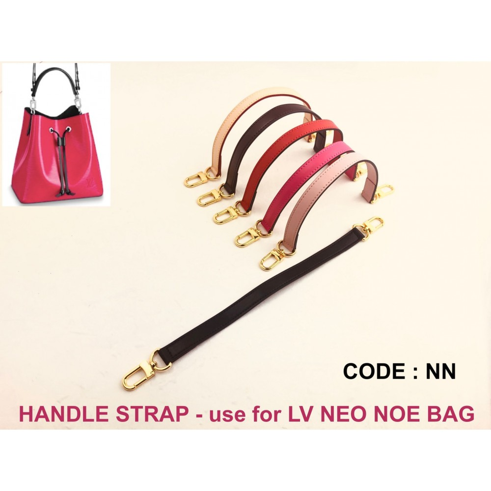 Handle Strap Genuine Leather - for LV Neo Noe Bag