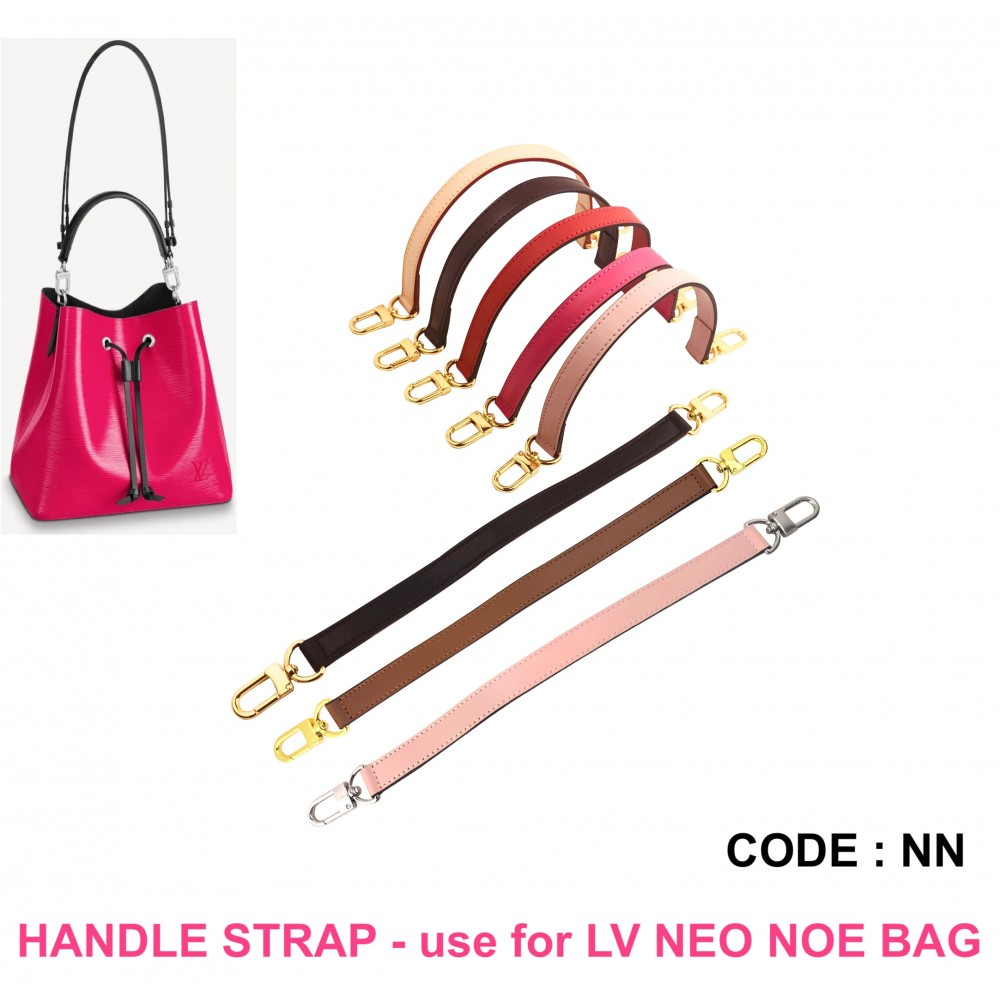 Handle Strap Genuine Leather - for LV Neo Noe (MM) Bag