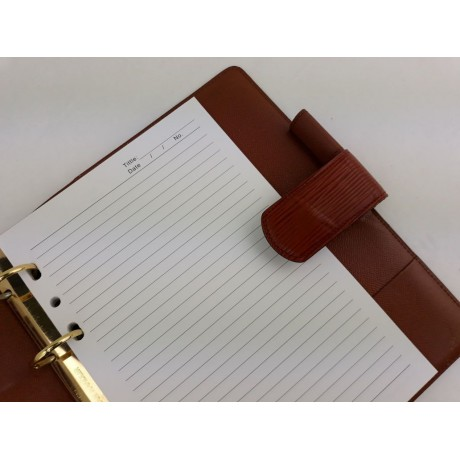 LV Agenda Large Ring (GM) Refill - Notebook (Agenda) refill - GM size