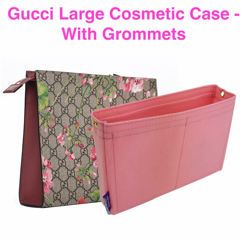 Gucci Large Cosmetic Case ( With Grommets )