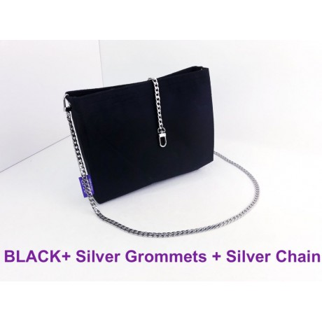 LV Pochette Voyage MM ( With Silver Grommets + Silver Chain )