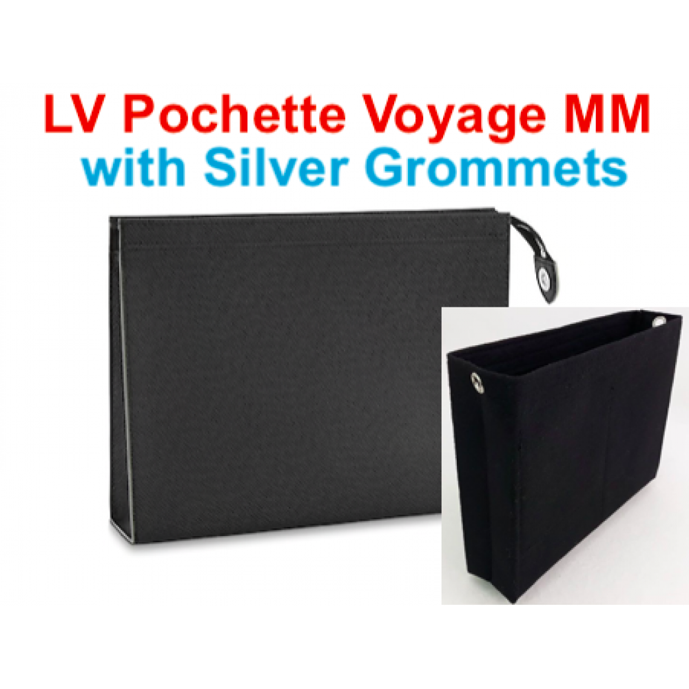 LV Pochette Voyage MM ( With Silver Grommets )