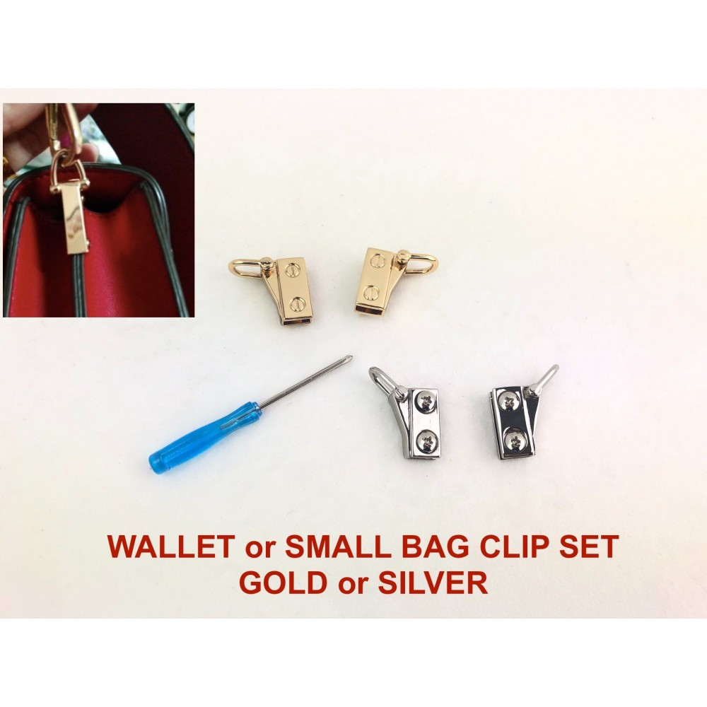 Wallet or Small Bag Clip Set