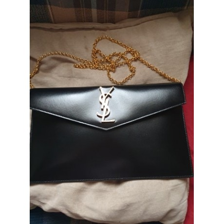 YSL Uptown Pouch - With Grommets